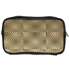 Fashion Style Glass Pattern Toiletries Bags 2 Side by Nexatart