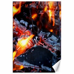 Fire Embers Flame Heat Flames Hot Canvas 20  X 30   by Nexatart