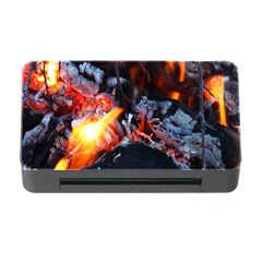 Fire Embers Flame Heat Flames Hot Memory Card Reader With Cf by Nexatart