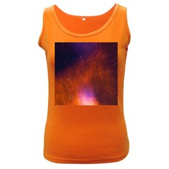 Fire Radio Spark Fire Geiss Women s Dark Tank Top by Nexatart