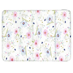 Floral Pattern Background  Samsung Galaxy Tab 7  P1000 Flip Case by Nexatart
