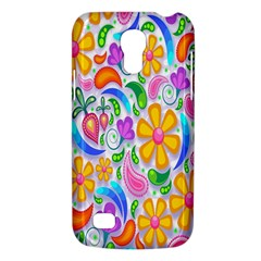 Floral Paisley Background Flower Galaxy S4 Mini by Nexatart