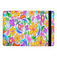 Floral Paisley Background Flower Samsung Galaxy Tab Pro 10 1  Flip Case by Nexatart