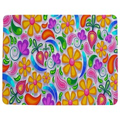 Floral Paisley Background Flower Jigsaw Puzzle Photo Stand (rectangular) by Nexatart