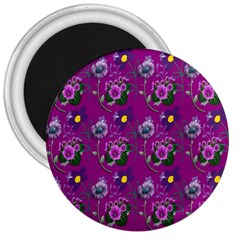Flower Pattern 3  Magnets