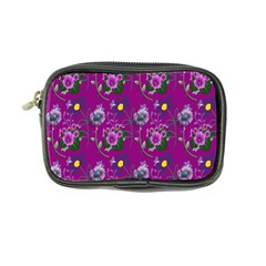Flower Pattern Coin Purse by Nexatart