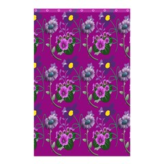 Flower Pattern Shower Curtain 48  X 72  (small)