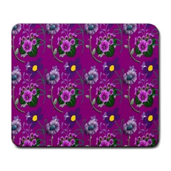 Flower Pattern Large Mousepads