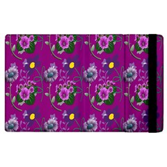 Flower Pattern Apple Ipad 2 Flip Case by Nexatart