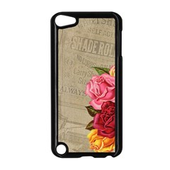 Flower Floral Bouquet Background Apple Ipod Touch 5 Case (black) by Nexatart