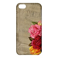 Flower Floral Bouquet Background Apple Iphone 5c Hardshell Case by Nexatart