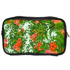 Flower Background Backdrop Pattern Toiletries Bags 2 Side by Nexatart