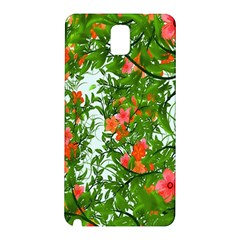 Flower Background Backdrop Pattern Samsung Galaxy Note 3 N9005 Hardshell Back Case by Nexatart