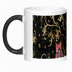 Floral Pattern Background Morph Mugs