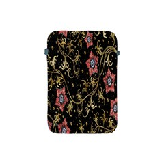 Floral Pattern Background Apple Ipad Mini Protective Soft Cases by Nexatart