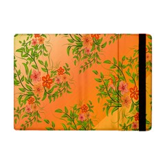 Flowers Background Backdrop Floral Apple Ipad Mini Flip Case