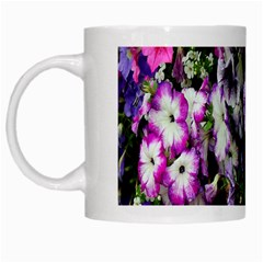 Flowers Blossom Bloom Plant Nature White Mugs by Nexatart