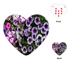 Flowers Blossom Bloom Plant Nature Playing Cards (heart)  by Nexatart