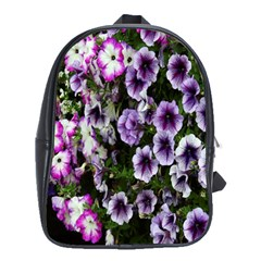 Flowers Blossom Bloom Plant Nature School Bags(large)  by Nexatart