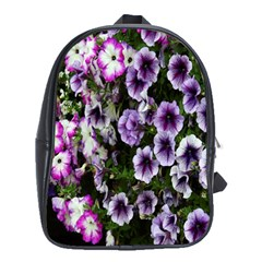 Flowers Blossom Bloom Plant Nature School Bags (xl)  by Nexatart