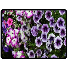 Flowers Blossom Bloom Plant Nature Double Sided Fleece Blanket (large)  by Nexatart
