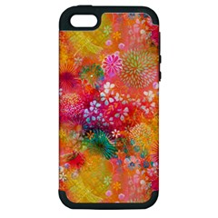 Here In Heaven Apple Iphone 5 Hardshell Case (pc+silicone) by KirstenStar