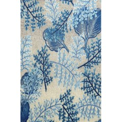 Flowers Blue Patterns Fabric 5 5  X 8 5  Notebooks by Nexatart