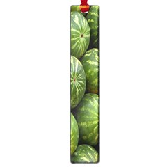 Food Summer Pattern Green Watermelon Large Book Marks