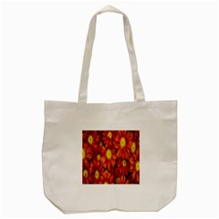 Flowers Nature Plants Autumn Affix Tote Bag (cream) by Nexatart