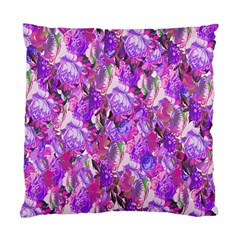 Flowers Abstract Digital Art Standard Cushion Case (one Side) by Nexatart