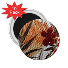 Fall Colors 2 25  Magnets (10 Pack)