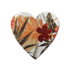 Fall Colors Heart Magnet