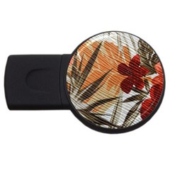 Fall Colors Usb Flash Drive Round (4 Gb) by Nexatart