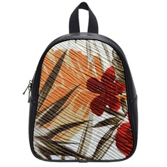 Fall Colors School Bags (small)  by Nexatart