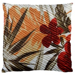 Fall Colors Large Cushion Case (one Side) by Nexatart