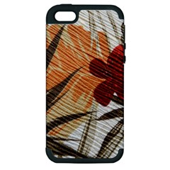 Fall Colors Apple Iphone 5 Hardshell Case (pc+silicone) by Nexatart