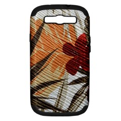Fall Colors Samsung Galaxy S Iii Hardshell Case (pc+silicone) by Nexatart