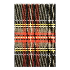Fabric Texture Tartan Color Shower Curtain 48  X 72  (small)  by Nexatart