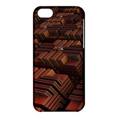 Fractal 3d Render Futuristic Apple Iphone 5c Hardshell Case by Nexatart