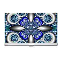Fractal Cathedral Pattern Mosaic Business Card Holders by Nexatart