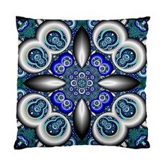 Fractal Cathedral Pattern Mosaic Standard Cushion Case (two Sides)