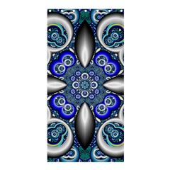 Fractal Cathedral Pattern Mosaic Shower Curtain 36  X 72  (stall)  by Nexatart
