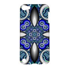 Fractal Cathedral Pattern Mosaic Apple Ipod Touch 5 Hardshell Case by Nexatart