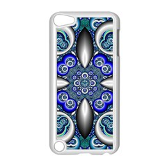 Fractal Cathedral Pattern Mosaic Apple Ipod Touch 5 Case (white) by Nexatart