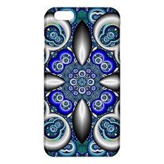 Fractal Cathedral Pattern Mosaic Iphone 6 Plus/6s Plus Tpu Case by Nexatart