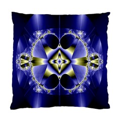 Fractal Fantasy Blue Beauty Standard Cushion Case (two Sides) by Nexatart