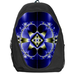 Fractal Fantasy Blue Beauty Backpack Bag