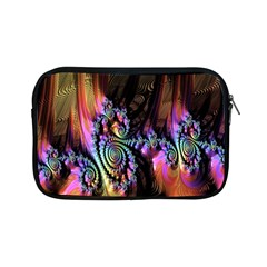 Fractal Colorful Background Apple Ipad Mini Zipper Cases by Nexatart