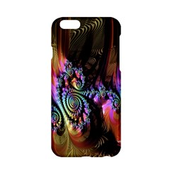 Fractal Colorful Background Apple Iphone 6/6s Hardshell Case