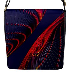 Fractal Art Digital Art Flap Messenger Bag (s)